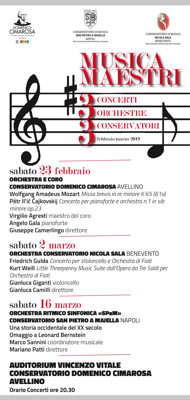 MUSICA MAESTRI 2019