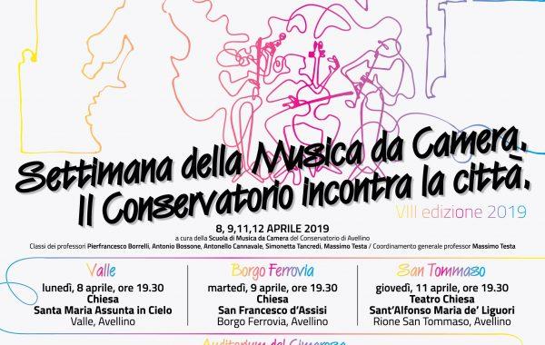 SETTIMANA DELLA MUSICA DA CAMERA 2019