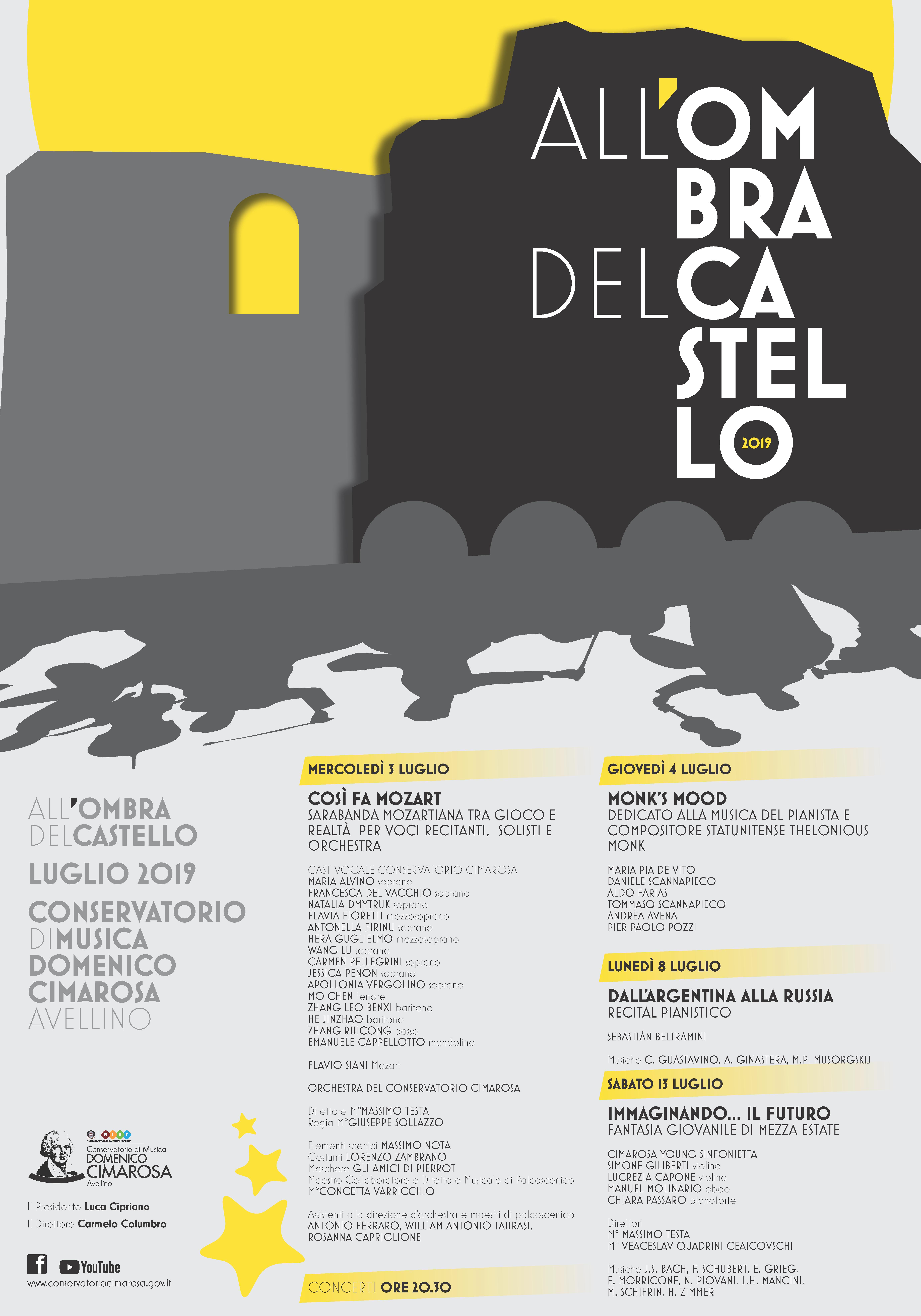 ALL'OMBRA DEL CASTELLO 2019